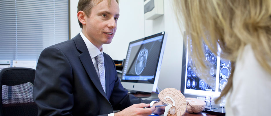 Neurosurgeon Mr Smith will ensure that your condition is fully explained and treatment options outlined.